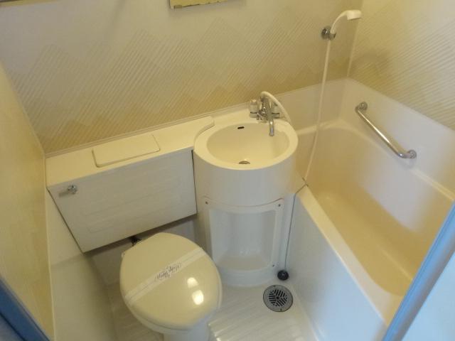 菱田ハイツ 302号室の洗面所