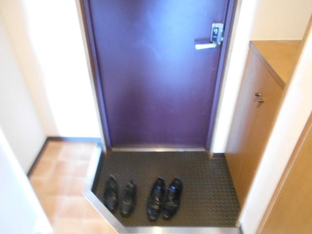 ウエストヴィラオイケ 408号室の玄関