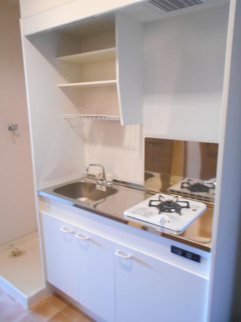 ウエストヴィラオイケ 408号室のキッチン