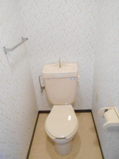 ウエストヴィラオイケ 408号室のトイレ