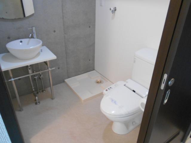 G-Design京都西院 206号室の洗面所