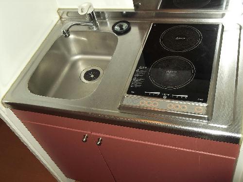 レオパレスシャルマン北浦 206号室のキッチン