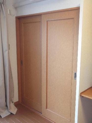 レオパレスシャルマン北浦 206号室の収納