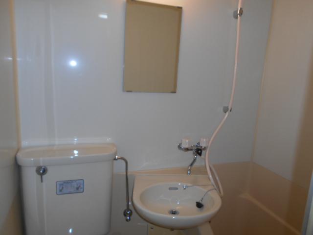 昇栄マンション 403号室の洗面所