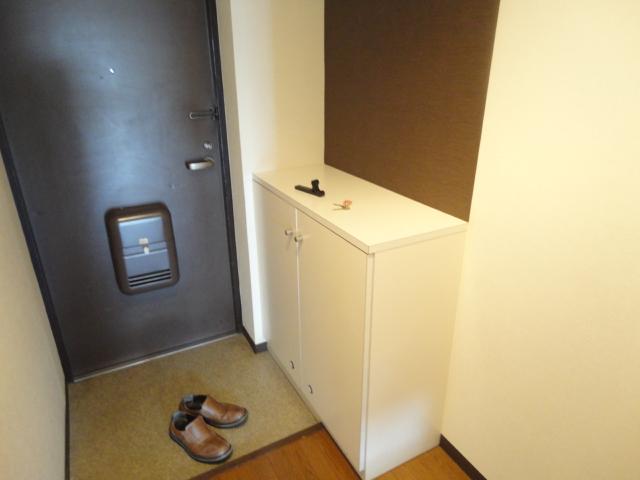 ウェルネスアーク桂 501号室の玄関