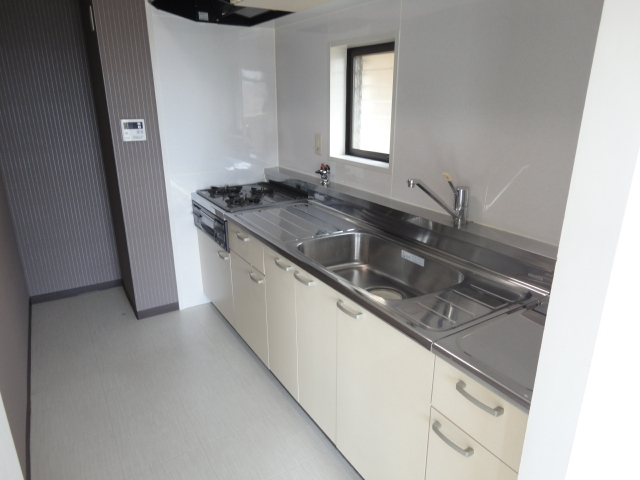 ウェルネスアーク桂 501号室のキッチン
