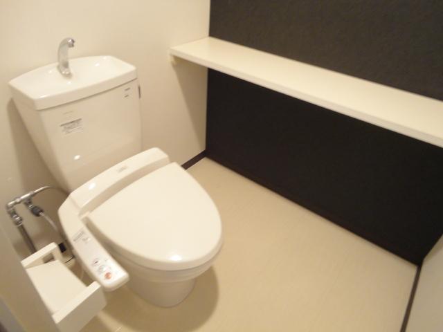 ウェルネスアーク桂 501号室のトイレ