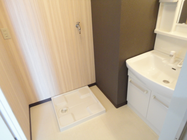 ウェルネスアーク桂 501号室の洗面所
