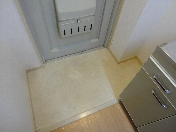 曙ハイツ 2B号室の玄関