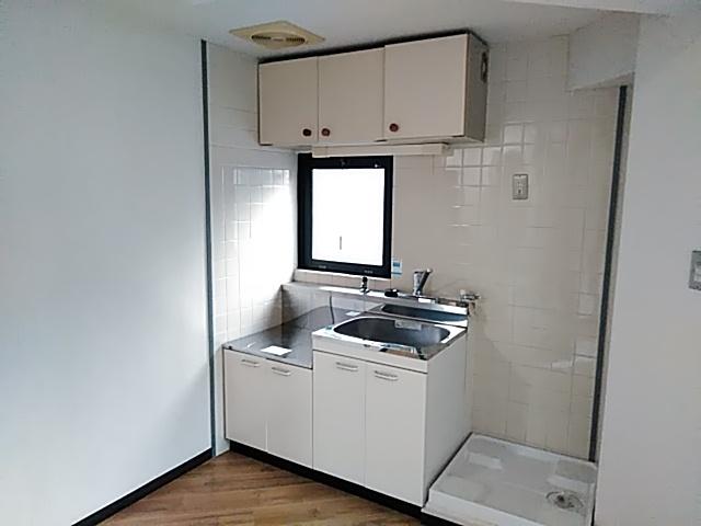 サンサーラなかじま 2A号室のキッチン