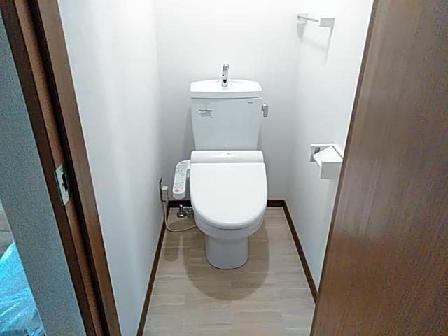 サンサーラなかじま 2A号室のトイレ
