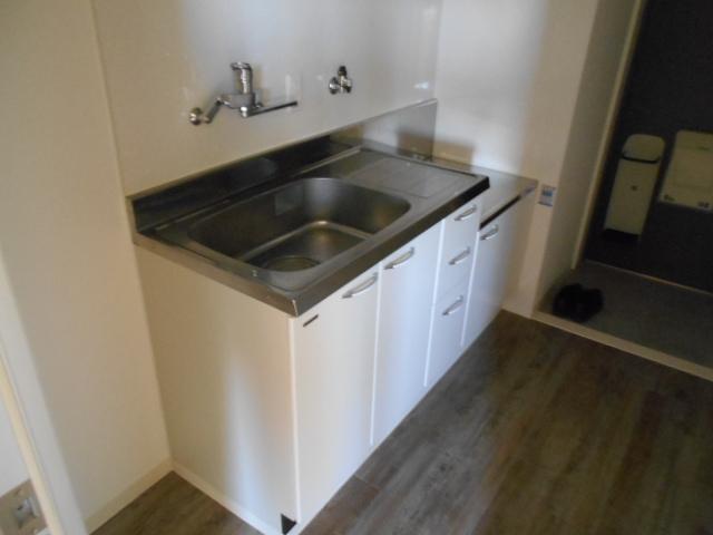 エスパシオ梅津 3-A号室のキッチン