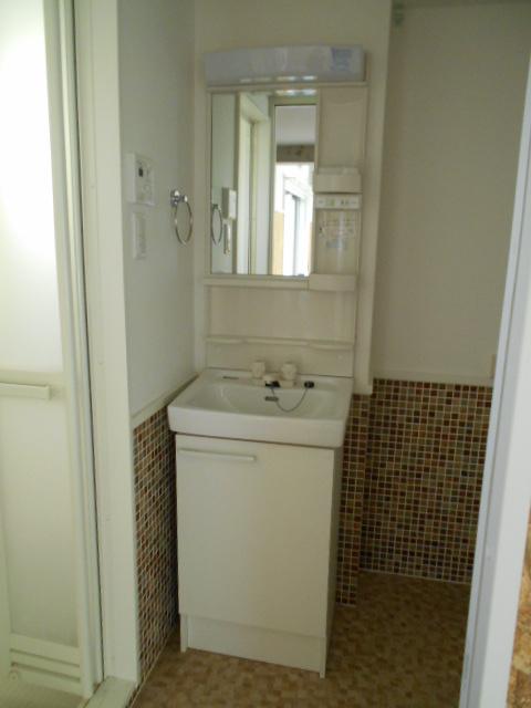 エスパシオ梅津 3-A号室の洗面所