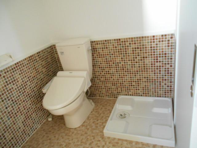 エスパシオ梅津 3-A号室のトイレ