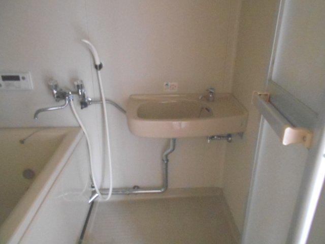 ロッジ御室 105号室の洗面所