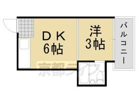 第1レジデンス春田 155号室の間取り