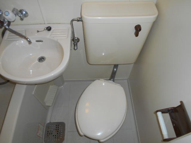 ドリーム嵯峨野 204号室のトイレ