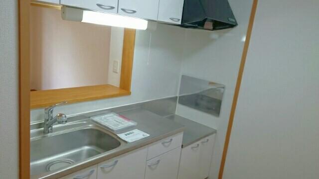 フォレスタ 01010号室のキッチン