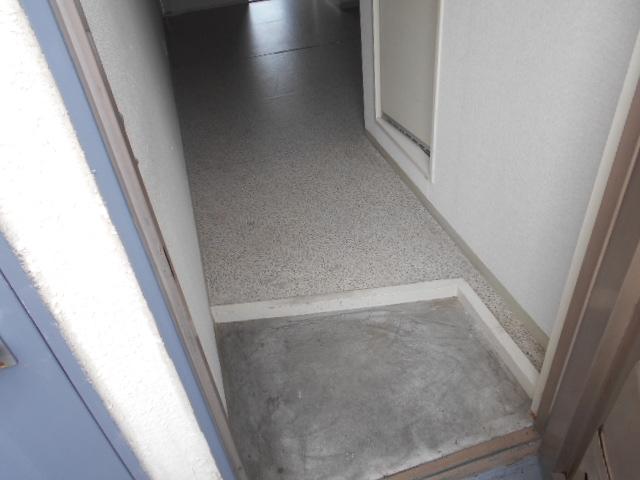 竹中ビル 302号室の玄関