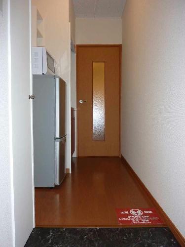 レオパレスジョイ大井 204号室の玄関