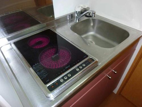 レオパレスジョイ大井 204号室のキッチン