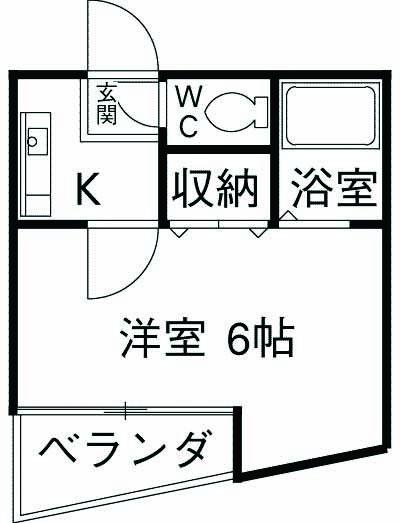 ニチェーマンション・302号室の間取り