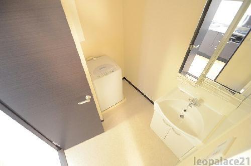 レオネクストリュミエール 204号室の洗面所