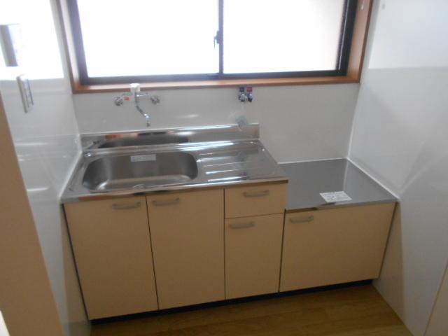 太秦安井貸家のキッチン