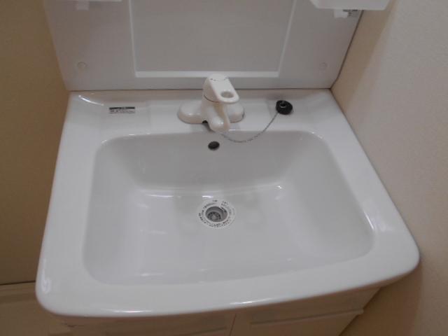 太秦安井貸家の洗面所