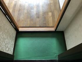 ブルーハイツ 201号室の玄関