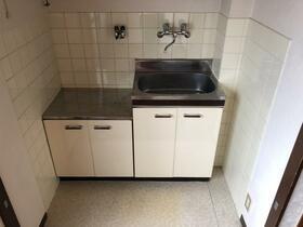 ブルーハイツ 201号室のキッチン