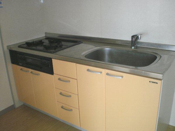 シャルレ8番館 201号室のキッチン