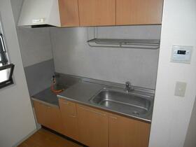 メゾンアスカ 202号室のキッチン