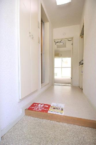 レオパレス竹鼻第2 202号室の玄関