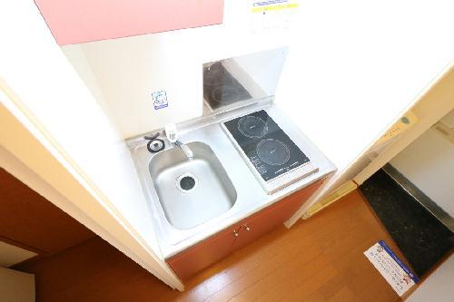 レオパレス州見台 107号室の風呂