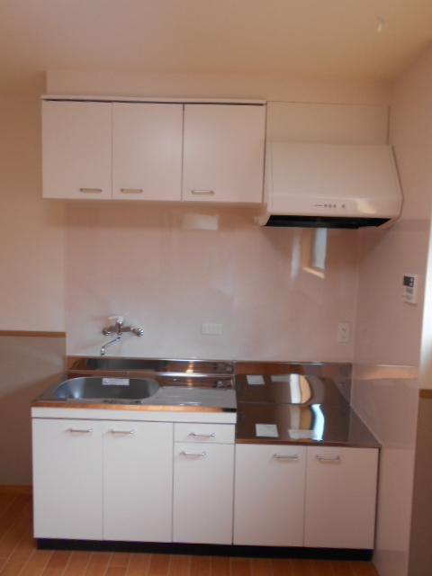 メゾン朝月 205号室のキッチン