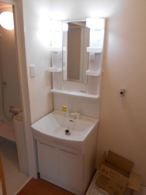 メゾン朝月 205号室の洗面所