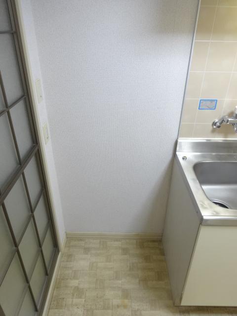 フレグランス井上 202号室のキッチン