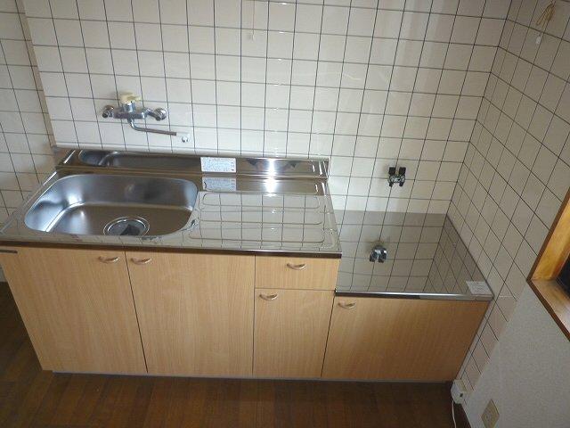 アスタ 201号室のキッチン
