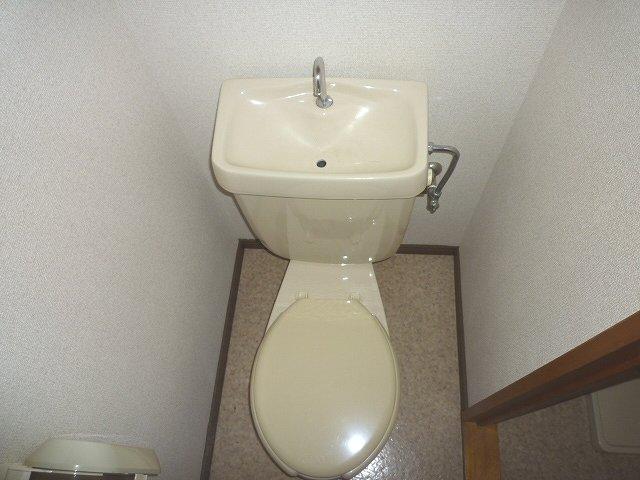 アスタ 201号室のトイレ