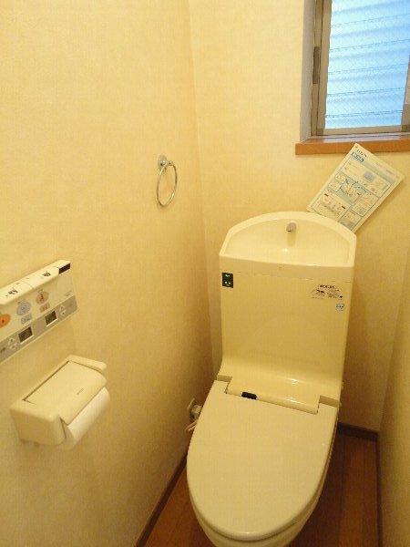 mity桂(ミティ桂) 2F号室のトイレ