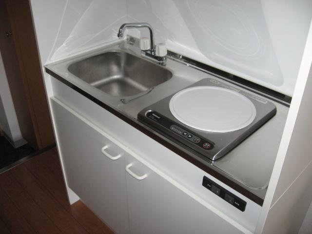 ソーシア桂 105号室のキッチン