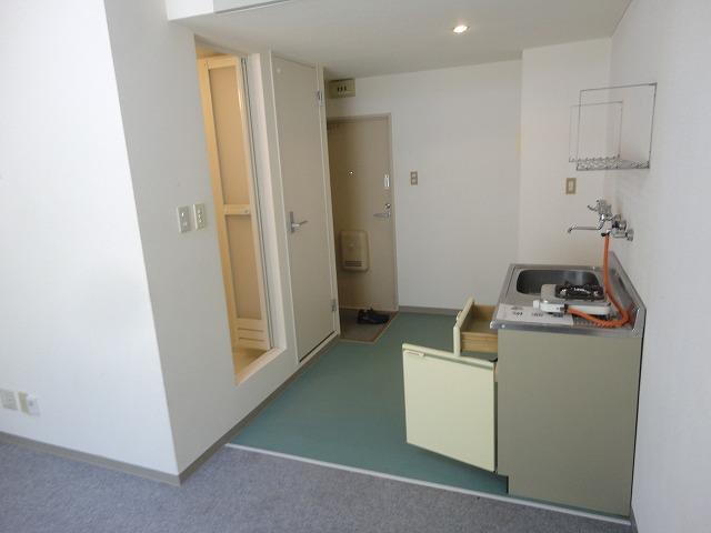 加賀山コーポ5 53号室のキッチン