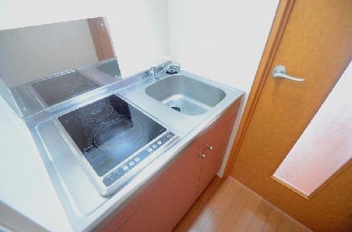 レオパレスプレミール 204号室のキッチン