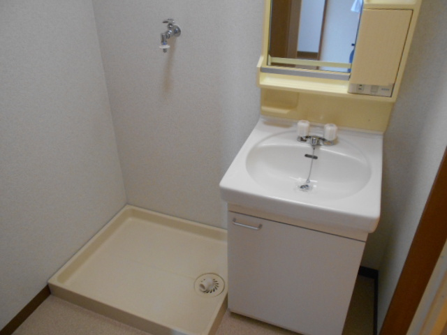 ファミールさわだ 402号室の洗面所