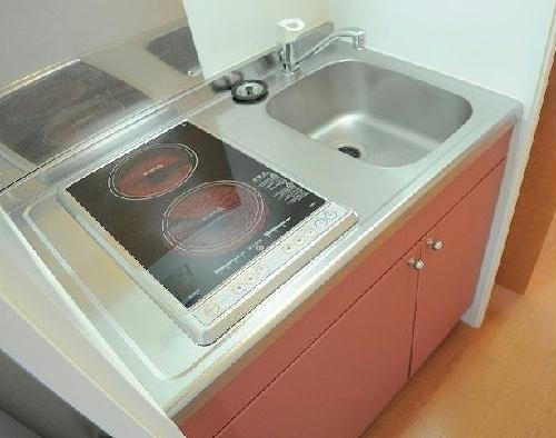 レオパレスMIHALU 205号室のキッチン