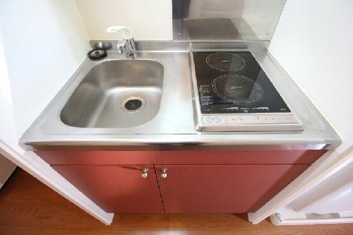レオパレス石塚 205号室のキッチン
