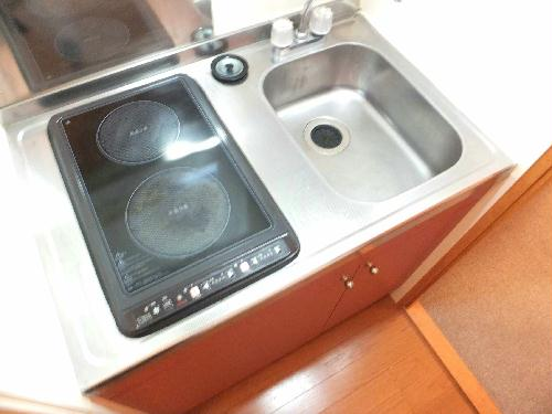 レオパレスアルモニ1番館 107号室のキッチン