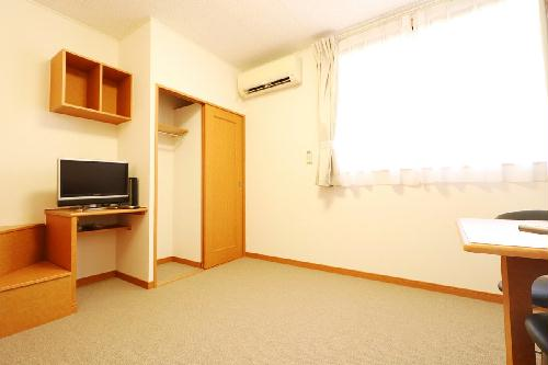 レオパレスアイリス 202号室のリビング
