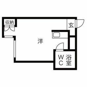 プレアール京都六地蔵・307号室の間取り